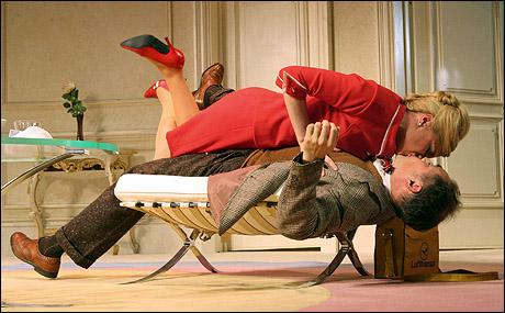 Kathryn Hahn and Mark Rylance