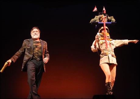 Robin Williams and Necar Zadegan