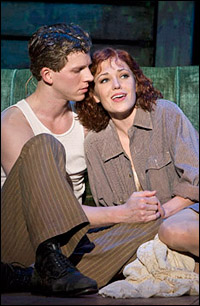 Laura Osnes and Stark Sands in the La Jolla Playhouse production.