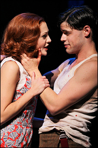 Laura Osnes and Jeremy Jordan