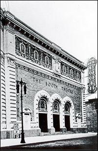 The Booth Theatre exterior in 1913