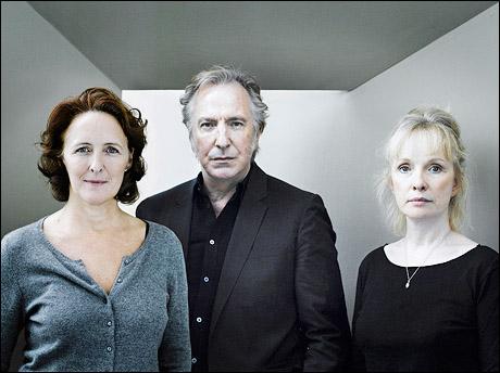Alan Rickman Family Fiona shaw, alan rickman and