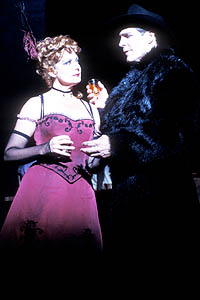 Michelle Pawk and Howard McGillin perform