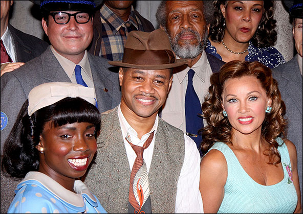 Adepero Oduye, Cuba Gooding, Jr., Arthur French and Vanessa Williams