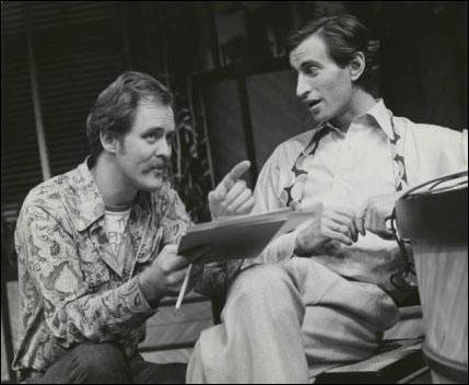 John Lithgow directs Lenny Baker in Boy Meets Girl, 1976
