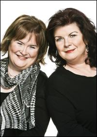 Susan Boyle and Elaine C. Smith