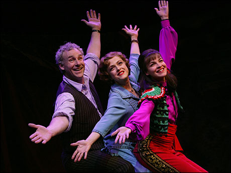 John Dossett, Bernadette Peters and Tammy Blanchard in the 2003 revival