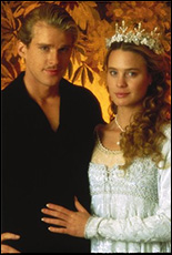 Cary Elwes and Robin Wright starred in the film