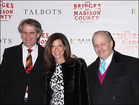 Bartlett Sher, Stacey Mindich and Jeffrey Richards