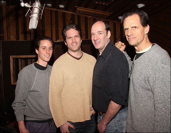 Luke Marinkovich, Aaron Ramey, Dan Sharkey and Michael X. Martin