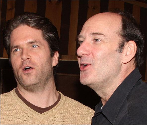 Aaron Ramey and Dan Sharkey