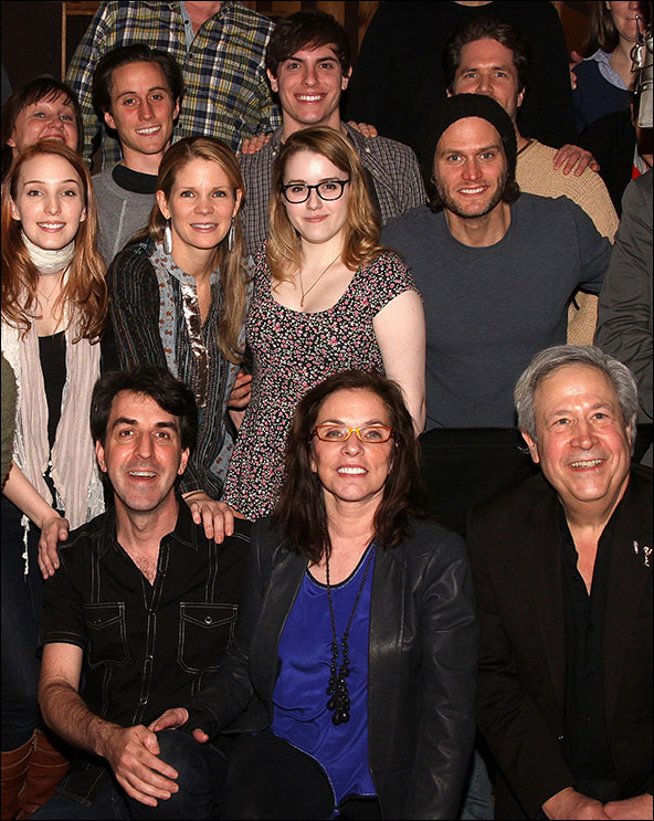 Cast members and producers