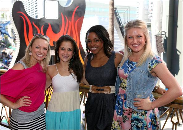 Courtney Corbeille, Lauren Whitt, Melody Mills and Brooklyn Alexis Freitag