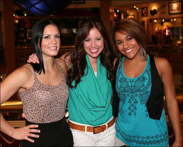 Billie Sue Roe, Nikki Bohne and Ariana DeBose