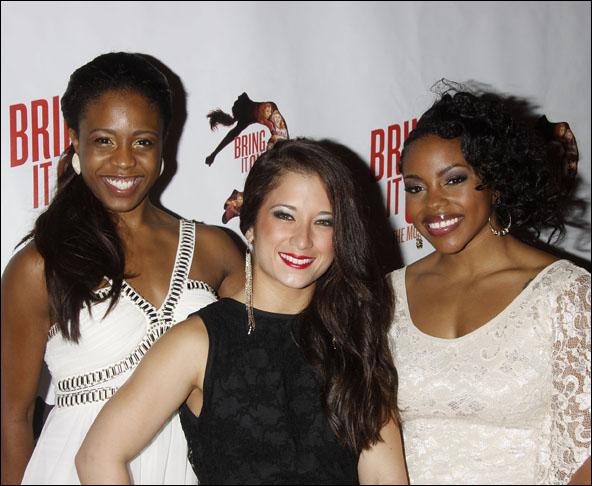 Shonica Gooden, Lauren Whitt and Melody Mills