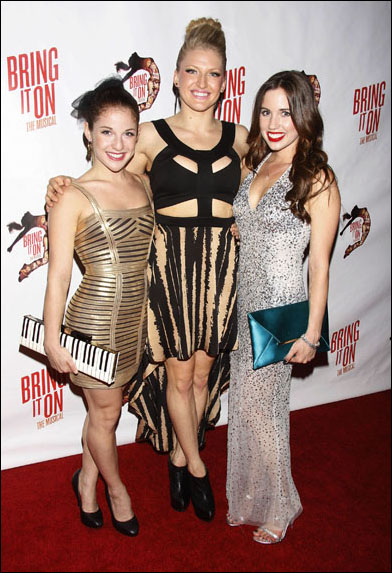 Danielle Carlacci, Brooklyn Alexis Freitag and Nikki Bohne