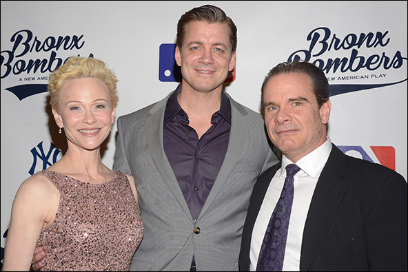 Tracy Shayne, Chris Henry Coffey and Peter Scolari