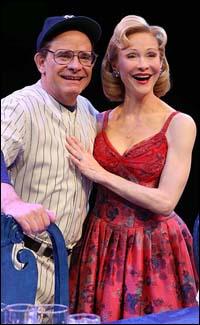 Peter Scolari and Tracy Shayne