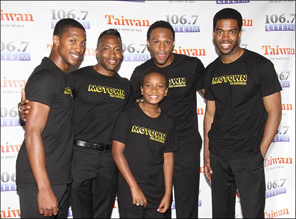 Motown's Jackson 5: Preston W. Dugger III, Eric LaJuan Summers, Darius Kaleb, Jarran Muse, Julius Thomas III