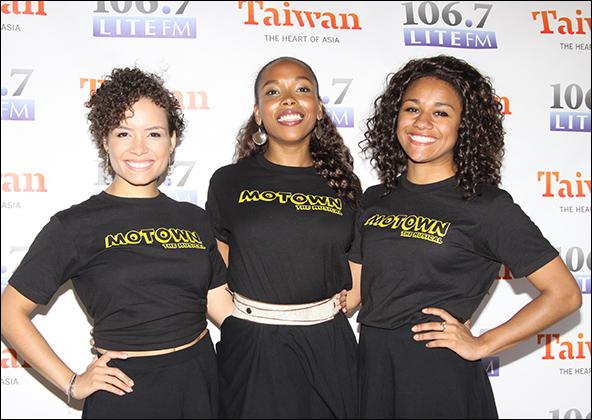 Sydney Morton, Dionne Figgins and Ariana DeBose