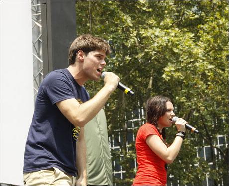 Jesse Swenson and Rachel Potter