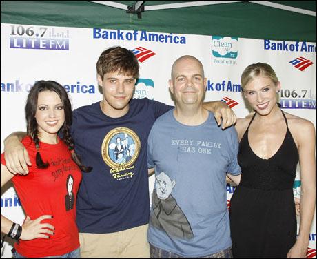 Rachel Potter, Jesse Swenson, Brad Oscar and Stephanie Gibson-Chase