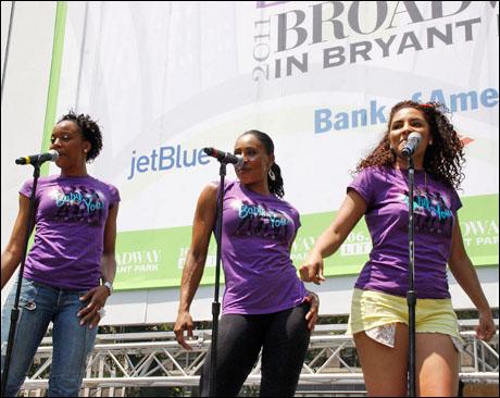 Erica Ash, Kyra Da Costa and Crystal Starr