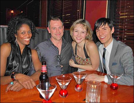 Rosa Curry, Tony Cloer, Jill Paice and Michael Sazonov