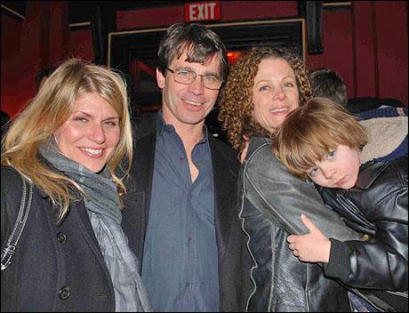 Jodie Moore, Scott Wise, Elizabeth Parkinson and son