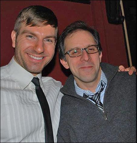 Karl Warden and John Rando