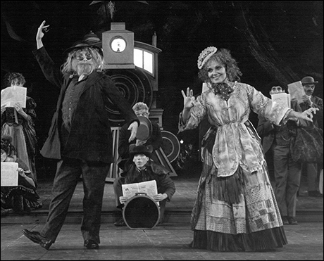 Betty Buckley and Cleo Laine in  The Mystery of Edwin Drood