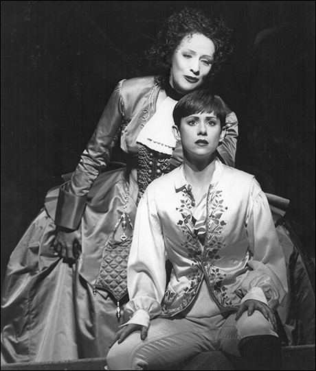 Betty Buckley and Susan Egan in Triumph of Love