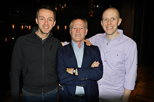 Andrew Lippa, Frank Marshall, and John August