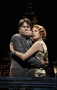 Zach Braff and Marin Mazzie