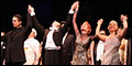 Bullets Over Broadway Musical, Starring Zach Braff and Marin Mazzie, on Opening Night