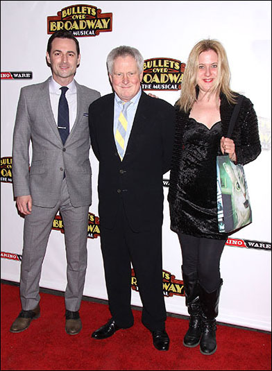 Max von Essen, Glen Kelly and Lisa Lambert