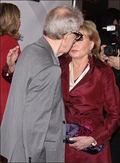 Woody Allen and Barbara Walters