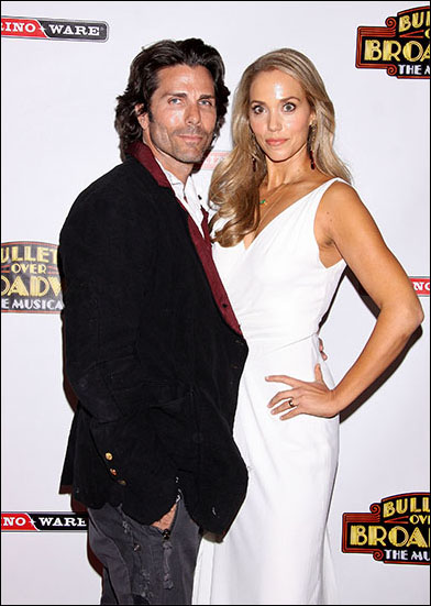 Greg Lauren and Elizabeth Berkley