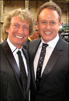 Nigel Lythgoe and director/choreographer Jason Gilkison