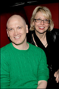 Charles Busch and Julie Halston