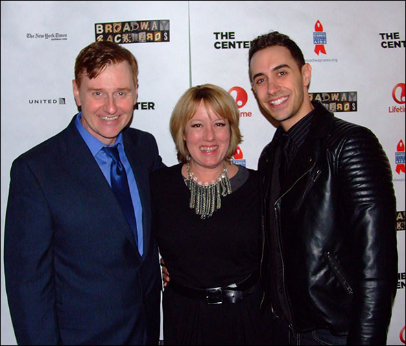 Robert Bartley, Amy Jones and Reed Kelly
