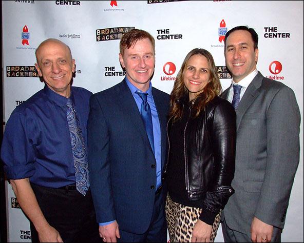 Tom Viola, Robert Bartley, Glenda Testone and Daniel Whitman