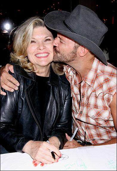 Debra Monk and Jim Newman