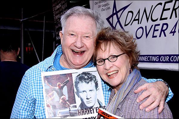 Harvey Evans and Pamela Myers