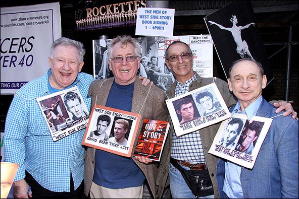 Harvey Evans, David Bean, Eddie Verso and Bert Michaels