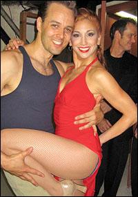 Noah Racey and Lorin Latarro