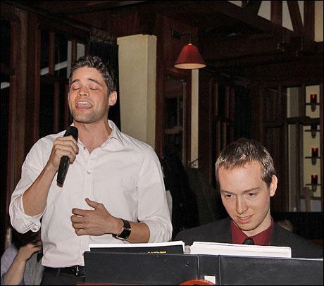 Jeremy Jordan and Paul Staroba