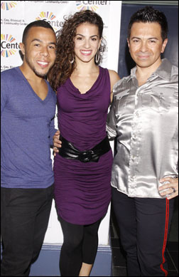 Cedric Leiba Jr., Renee Marino and Luis Villabon