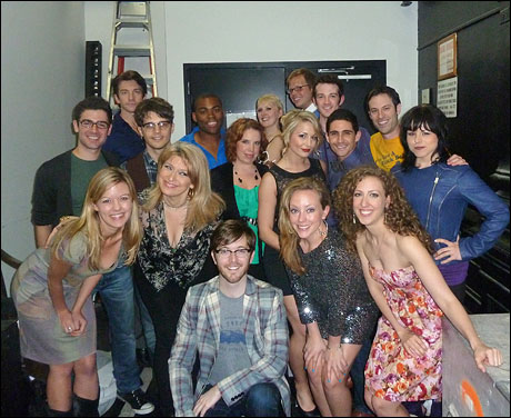 The cast of Broadway Recycled