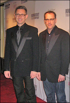 Director/choreographer Robert Longbottom and associate director Tom Kosis